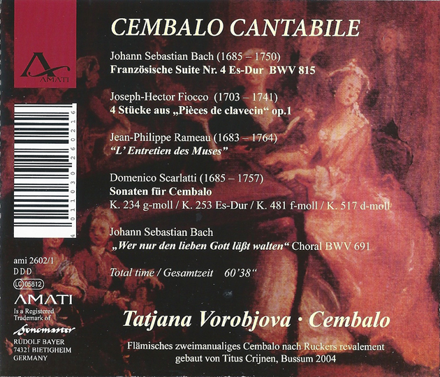Cembalo Cantabile Cover